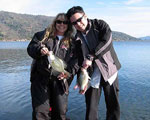 Couples go Fishing on Clear Lake California